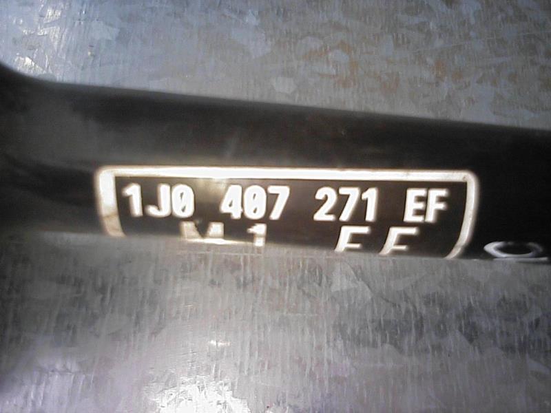 VW New Beetle Bj.01 Antriebswelle vorn links 1,9TDI 1J0407271EF