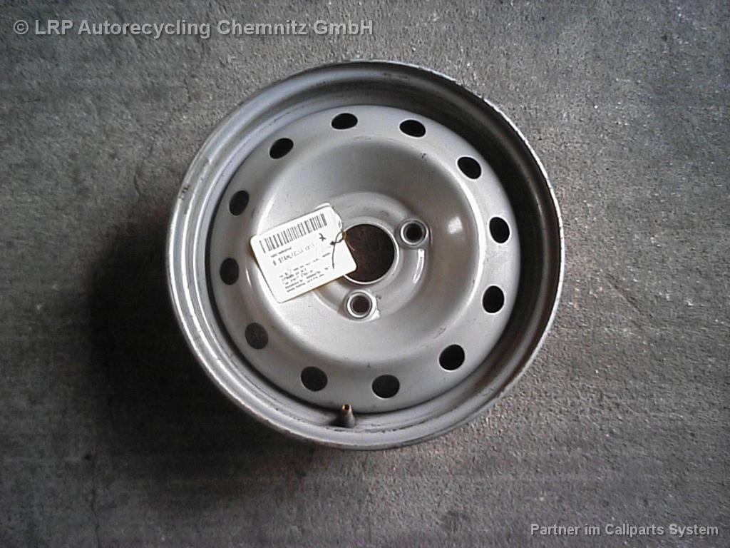 Citroen AX BJ 1996 einzelne Felge Stahlfelge 4x13 ET20 Felge AX 4J x 13 ET20