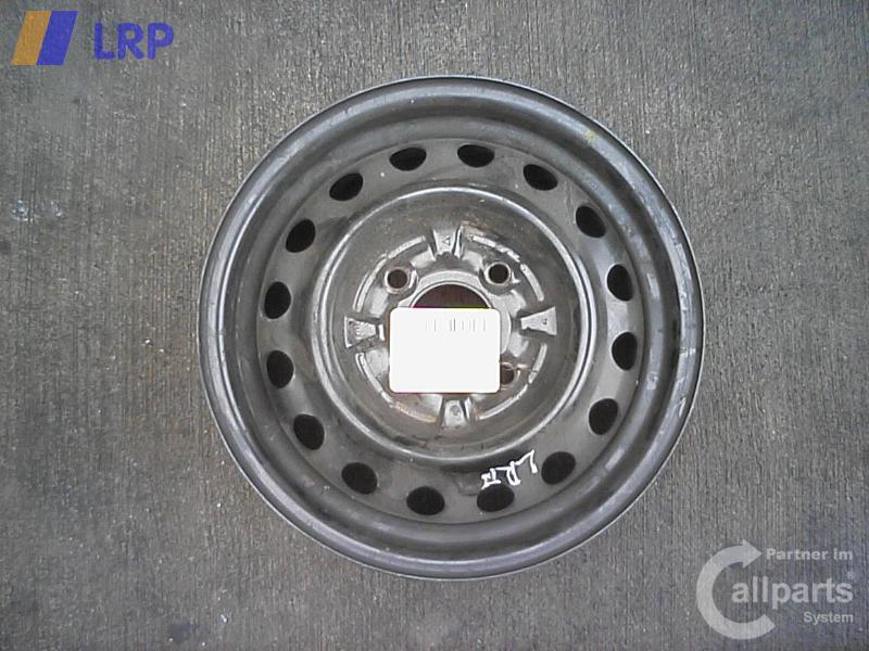 Nissan Primera P10 BJ 1996 einzelne Felge Stahlfelge 5x14 ET45