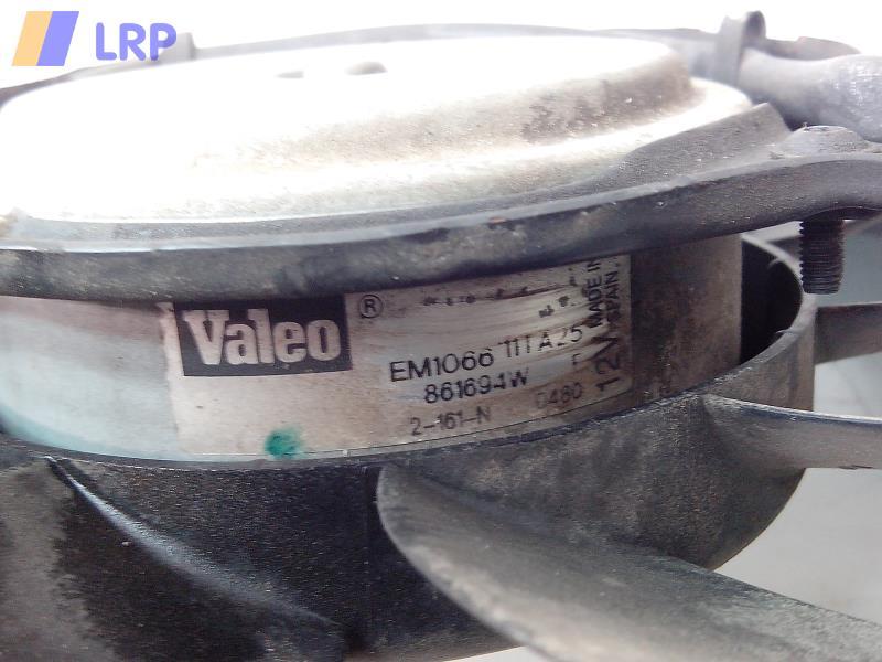 Opel Agila (A) BJ2002 Elektrolüfter mit Zarge OHNE Klima 1,0 43kw VALEO