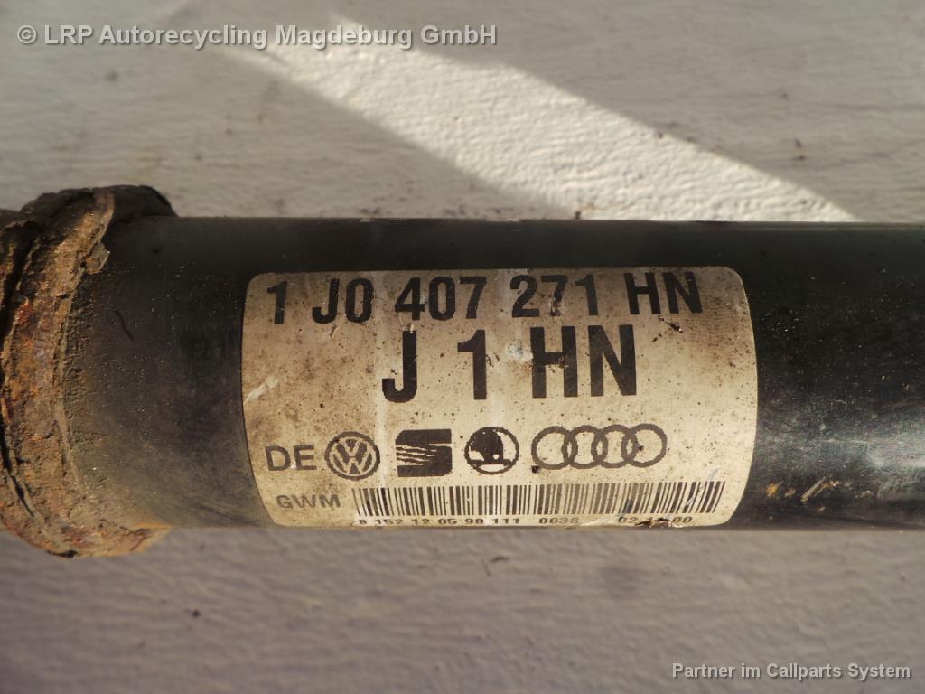 VW Golf 1J Bj.00 Antriebswelle vorn links 1.9TDI 74kw 1J0407271HN