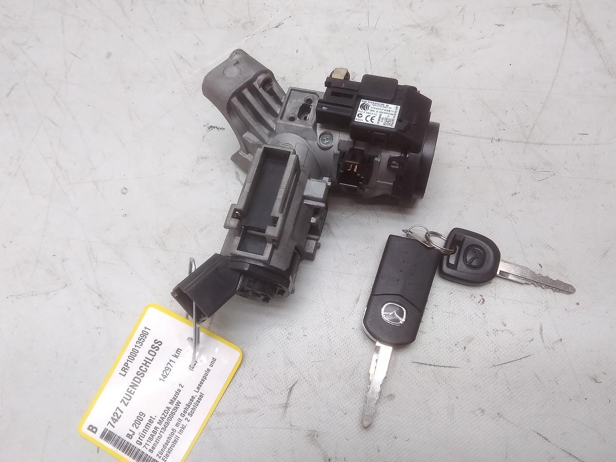 Mazda 2 DE Bj2009 original Zündschloß inkl. 2 Schlüssel