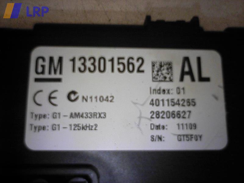 Zentralelektrik 13301562 Opel Corsa D Ab 10/06 BJ: 2009