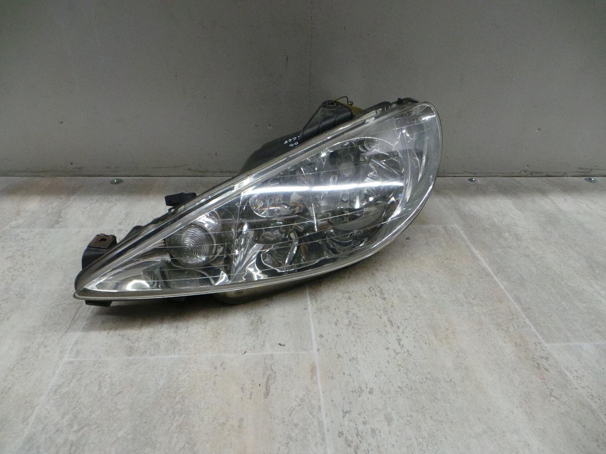 Peugeot 206 03-09 Scheinwerfer vorn links Lampe Valeo