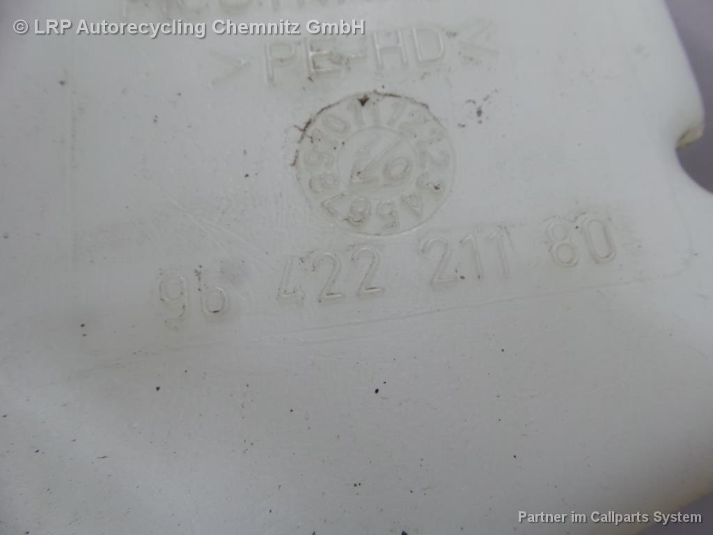 Citroen Xsara N2 BJ 2002 Wischwasserbehälter 9642221180 Wasserbehälter 1.6