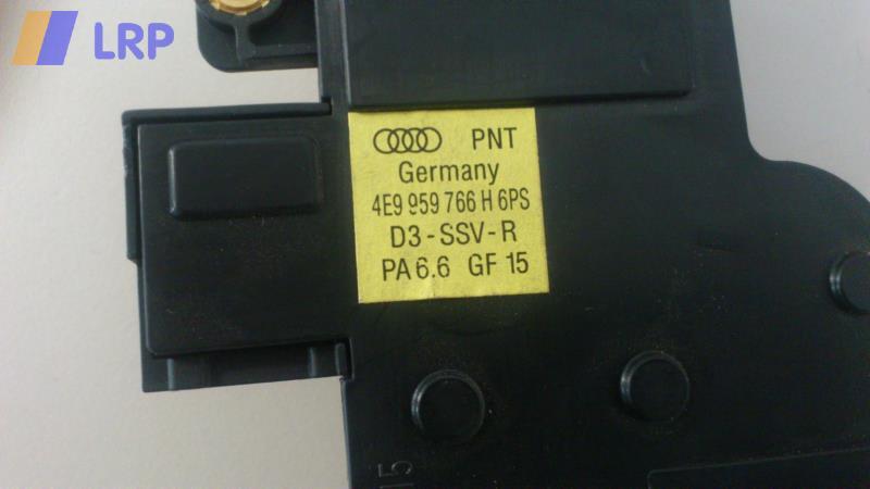 Schalter Sitz V R 4E9959766H6PS 4E9959766H 6PS Audi A8/S8 4e (11/02-09) BJ: 2003