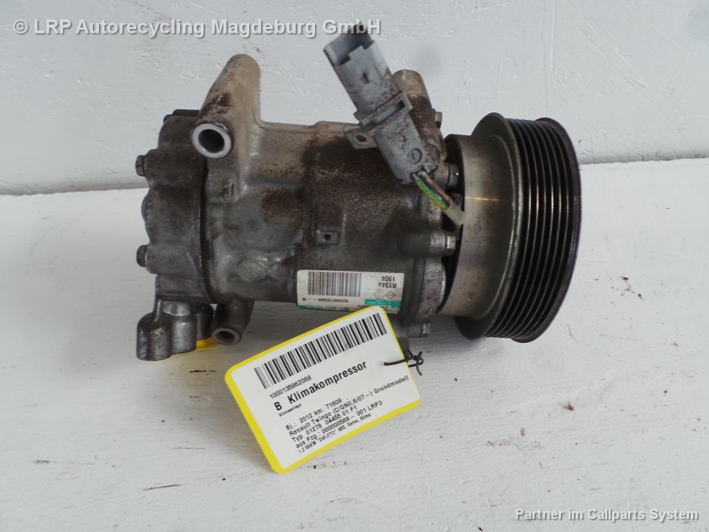 Renault Twingo 2 ab 2012 Klimakompressor 1.2 55kw D4F 8200819568B