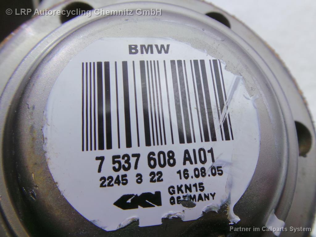 BMW X3 E83 BJ 2005 Antriebswelle hinten rechts 2.0D 110KW 7537608