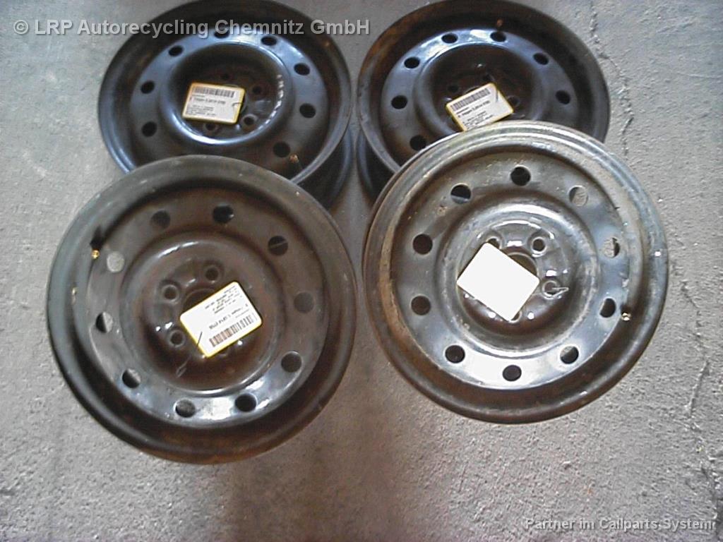 Subaru Impreza BJ 1998 Satz Stahlfelgen Felgen 5,5x14 ET55 5.5x14