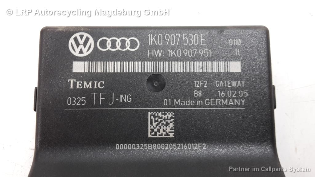 VW Golf Plus 5M Diagnose Interface für Datenbus Gateway 1K0907530E